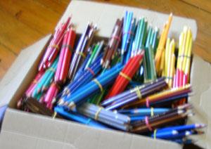110. Projet Séjour à Ouagadougou du 3 au 23 novembre 2013 crayons-cm2-mussidan